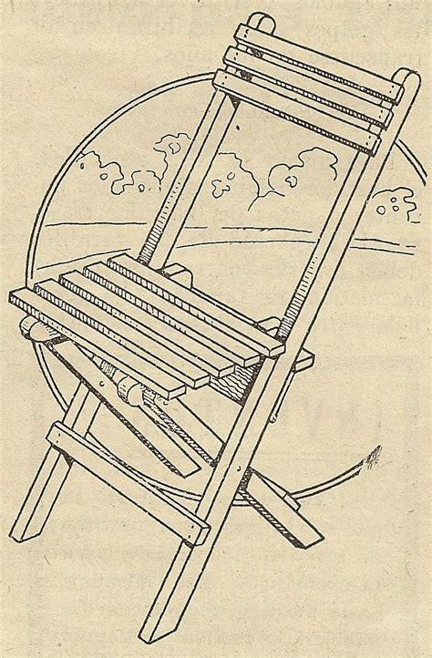 como hacer sillas de madera como hacer una silla de madera plegable paso a paso como