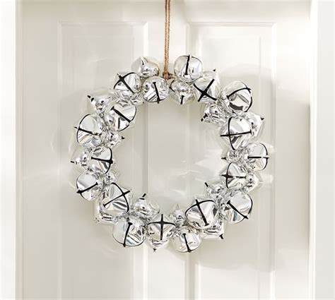 jingle bell wreath pottery barn