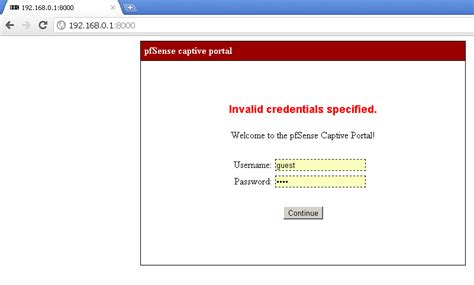 default page template pfsense 2 0 rc1 customize captive portal pages and