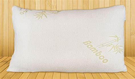 bed pillows that stay cool bamboo pillow shredded memory foam stay cool removable