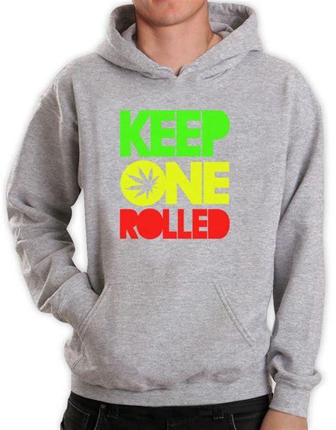 Jaket Hoodie Sweater 420 Rasta 5 keep one rolled hoodie marijuana jamaica rasta wiz swoosh 420 dope ebay
