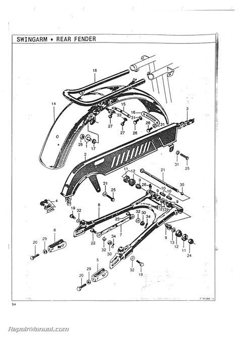 Honda Parts Catalog by Honda Cl72 Scrambler 250 Parts Manual