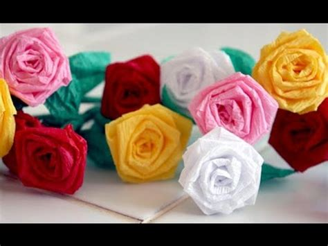 How To Make Small Roses With Paper - how to make small paper roses with paper strips 2 min