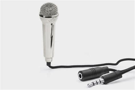 Microphone Mini Earphone 2in1 Karaoke Headset Sing kikkerland mini karaoke microphone