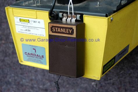 stanley garage door opener remote not working wageuzi