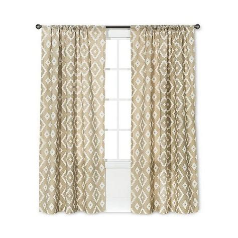southwest curtains threshold farrah southwest curtain panel tan 135 dkk