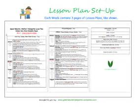 lesson plan template for special needs students july 2014 green bean kindergarten