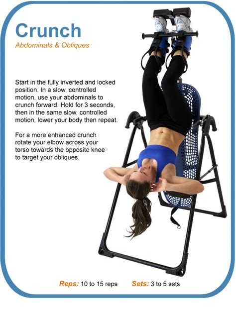 inversion table exercises inversion therapy benefits