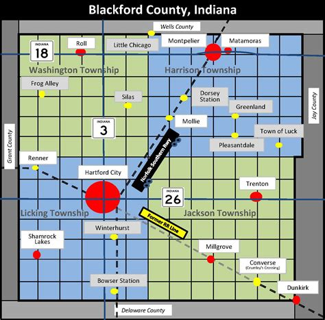 Number Search Indiana Blackford County Indiana