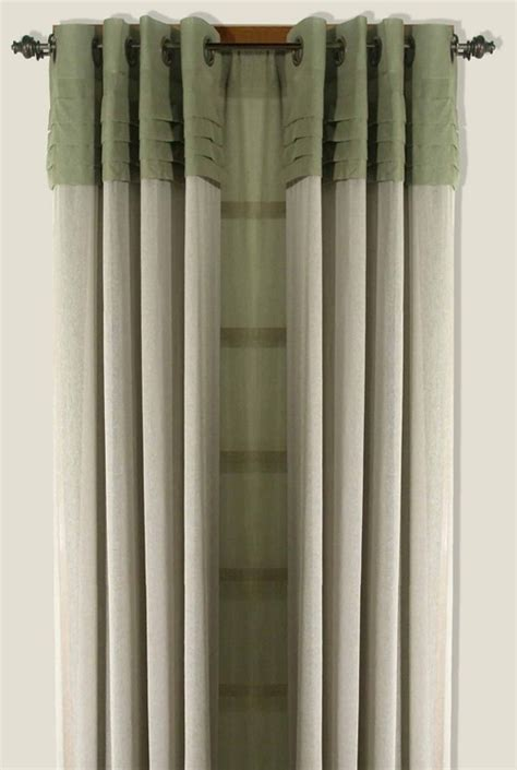 Geneva Two Tone Grommet Curtain Panel   Curtain & Bath Outlet