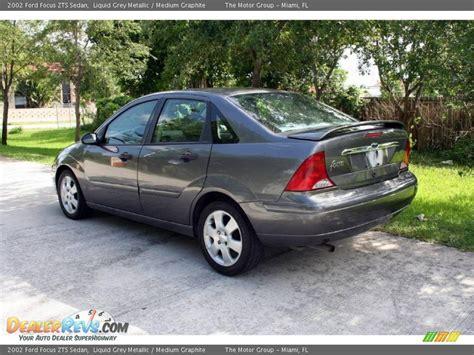 2002 ford focus zts 2002 ford focus zts sedan liquid grey metallic medium