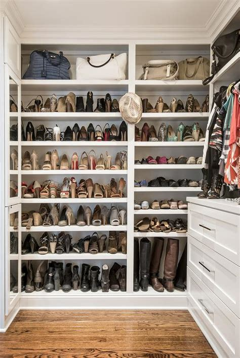 How To Build Shoe Shelves In Closet by Closet Boot Racks Design Ideas