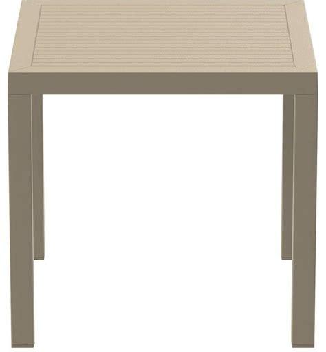 tavoli in plastica per esterno tavolo in plastica per esterni tavolo quadrato per bar
