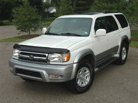 2000 Toyota 4runner Limited Find Used 2000 Toyota 4runner Limited 4wd Leather Clean