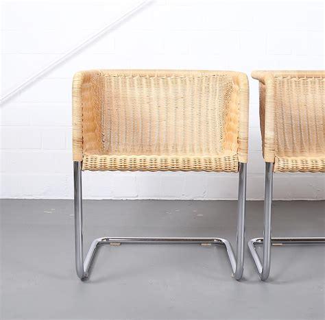 rattan stuhl tecta d43 chair stuhl wicker kastholm fabricius mart stam