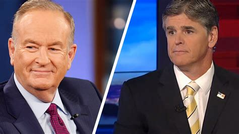 bill o reilly speaks out about firing and hannity