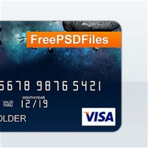 Credit Card Template Psd Free Objects Psd 500 Free Psd Files