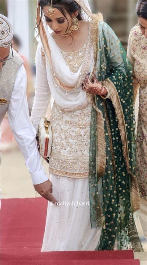 nikkah bride pakistani bridal dresses shadi dresses