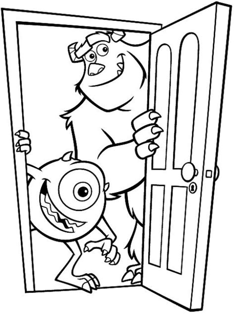 coloring pages for monsters university disney monster inc coloring pages monsters university