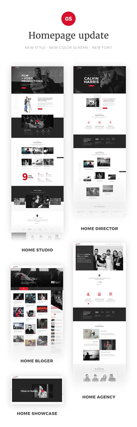 theme maker wordpress nine studio a film maker studio agency blogger