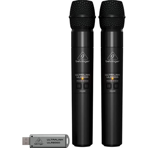 Behringer Wireless Microphones Systems Ultralink Ulm202usb Set behringer ultralink ulm202usb wireless system music123