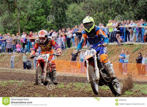 enduro motocross racing enduro motorcycle racing royalty free stock image