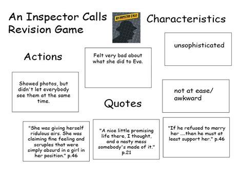 an inspector calls themes resources collaborative english resources