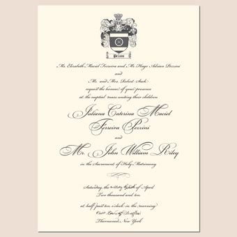 Royal Invitation Letter Exle New Letterpress Wedding Invitation Designs An Invite Fit For A Royal Wedding Letterpress