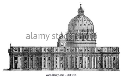 saint peter basilica architectural floor plan vatican city 1933 renaissance architecture vati stock photos vati stock images alamy