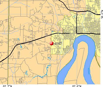 zip code map evansville in 47712 zip code evansville indiana profile homes