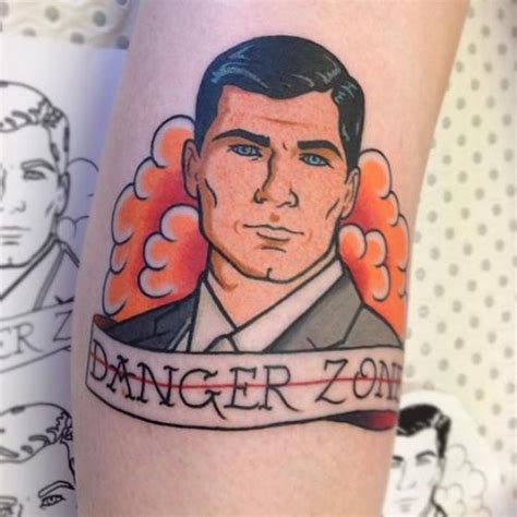 archer tattoo best 25 sterling archer ideas on archer