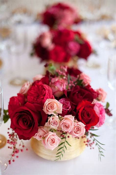themes of rose flower rose centerpieces red roses and tea roses on pinterest