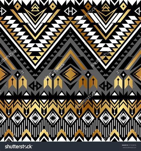 abstract aztec pattern stock vector tribal navajo ornamental seamless pattern