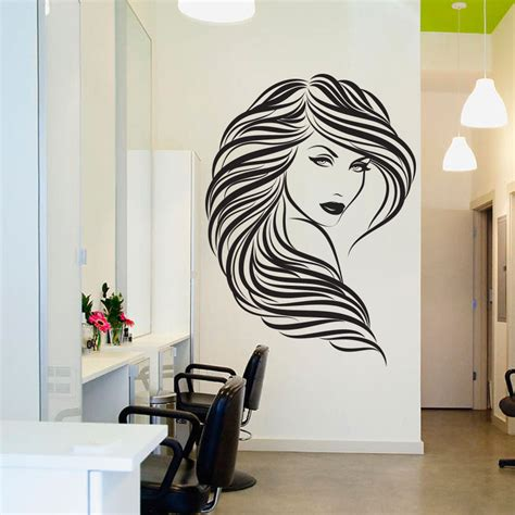 home decor at the bookstore life at cloverhill aliexpress com buy popular beauty hair salon wall decal