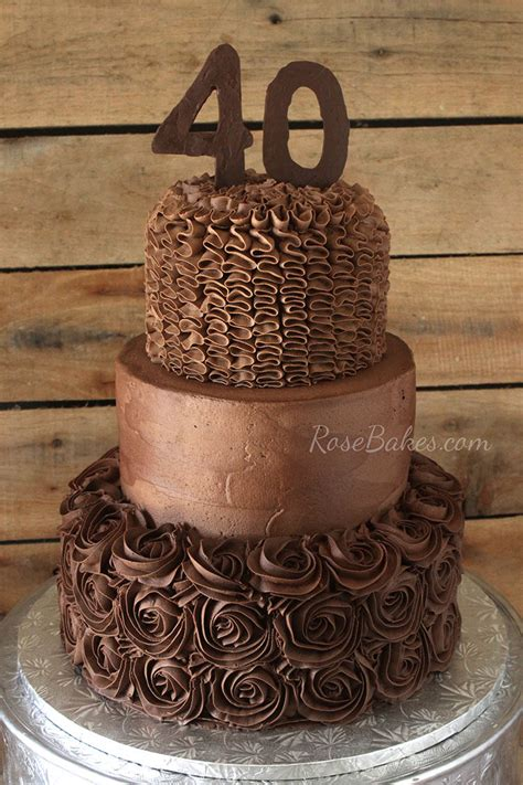 chocolate birthday chocolate buttercream wedding cakes