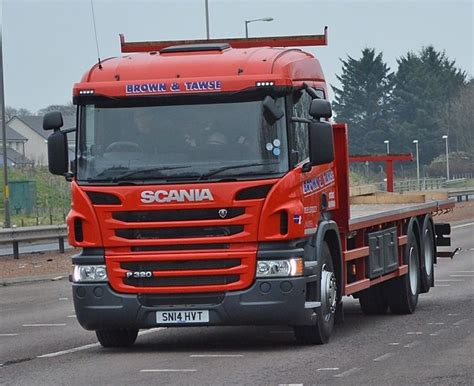 brown tawse new scania news from lorryspotting