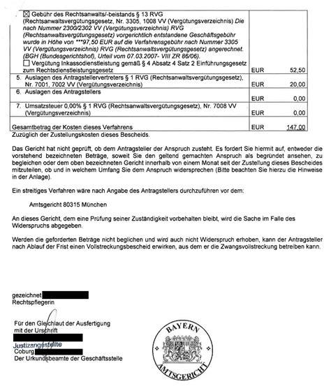 Musterbrief Widerspruch Gerichtliches Mahnverfahren Mahnbescheid Nach Deutscher Abmahnung Was Tun Steiger