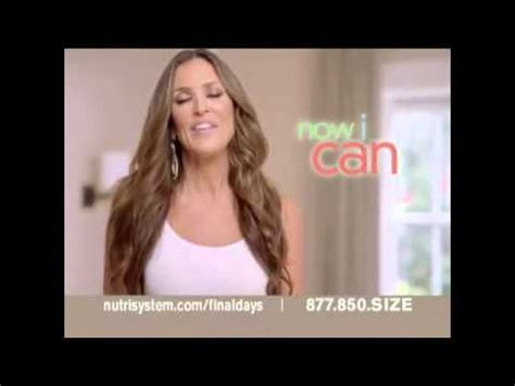 nutrisystem commercial actress jillian nutrisystem fresh start sales event tv commercial