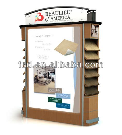 Mat Display by Tsd W157 Custom High Quality Free Standing Carpet Sle