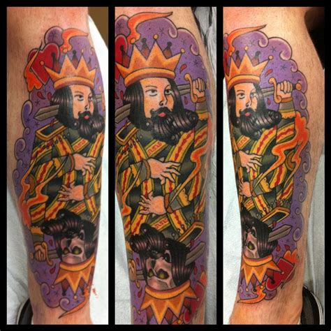 suicide king tattoo king tattoos