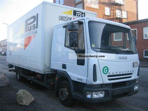 Sleeper Box Truck by Iveco Ml80e18 With Sleeper Cab 2003 Box Truck Photo And Specs