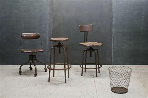 Bureau Style Industriel En Métal Et Bois by Chaises Industrielles Designs Vintage Et Modernes