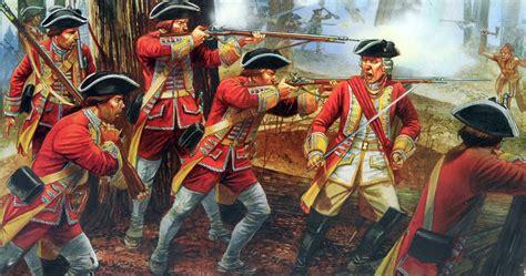 fontenoy 1745 cumberlands bloody 1472816250 british regular infantry in combat during the seven years war seven years war art