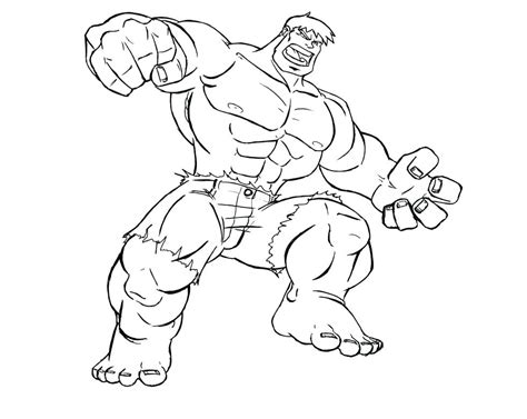 97 incredible hulk coloring pages printable hulk