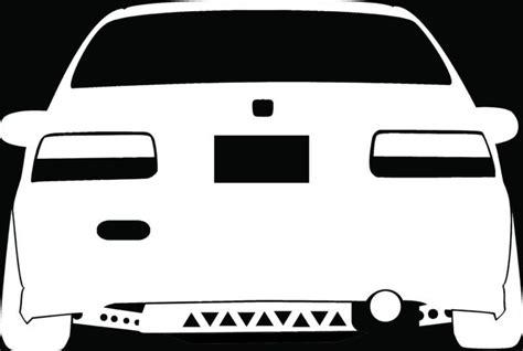 jdm sticker rear black honda civic ek sedan 2017 2018 best cars reviews