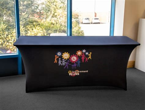 printed table covers printed stretch table cover expologos