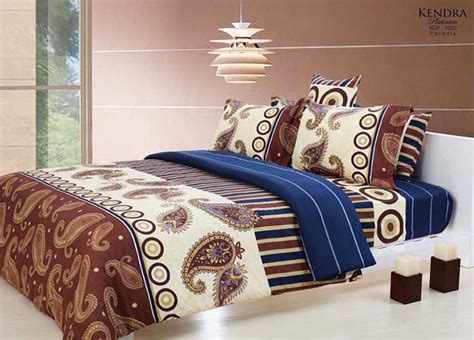 Sprei Kendra Signature Terbaru Ukuran King Size 180x200 Zt10549 sprei bed cover bedcover jual sprei sprei murah