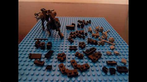 tutorial lego transformers ravage 2 0 a g1 lego transformers tutorial youtube