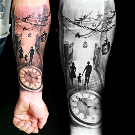 Eternal Light Father And Son Tattoo Ideas Style Amp Designs
