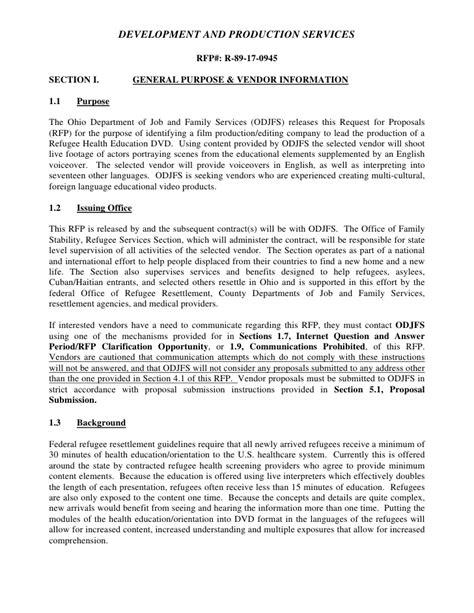 odjfs online odjfs request for proposals rfp ohio download pdf